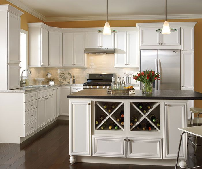 Wescott Maple Alpine Schrock At Menards Kitchen Layout Kitchen Remodel Cabinet Trim