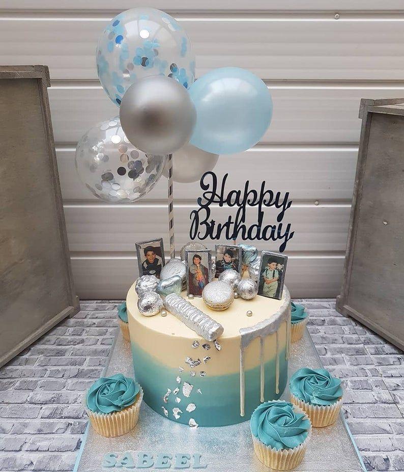 Cute Cake Baking Personalised Children/'s Birthday Party Bunting Banner Garland