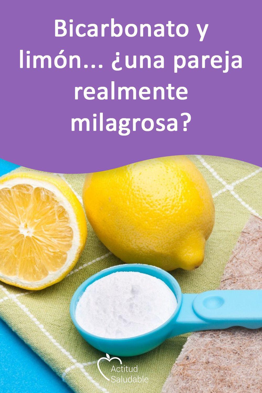 Bicarbonato Y Limon Una Pareja Realmente Milagrosa