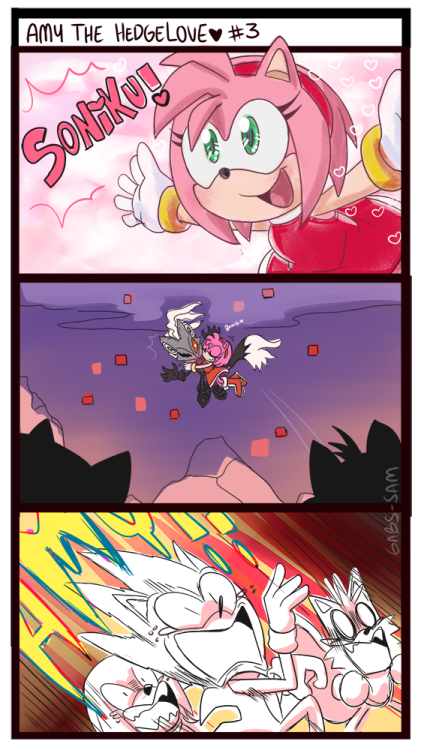 FurryBooru -  amy rose bbmbbf blush bra chaos (sonic
