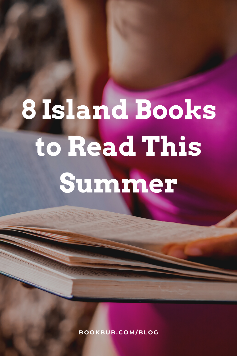 Looking for books to read this summer? Check out these recommended novels that are all set on islands.  #books #summerbooks #readinglist