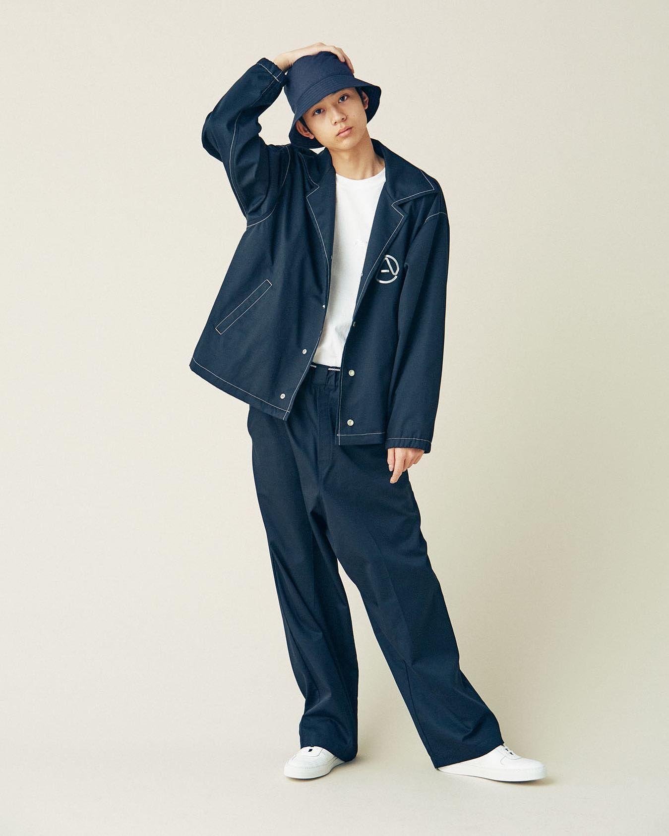 ハットもジャケットもパンツも セットアップで着たい セットアップ ハット ジャケット パンツ 水沢林太郎 setup neonsign fashion mensnonno メンズファッションスタイル 冬服 メンズ メンズファッション