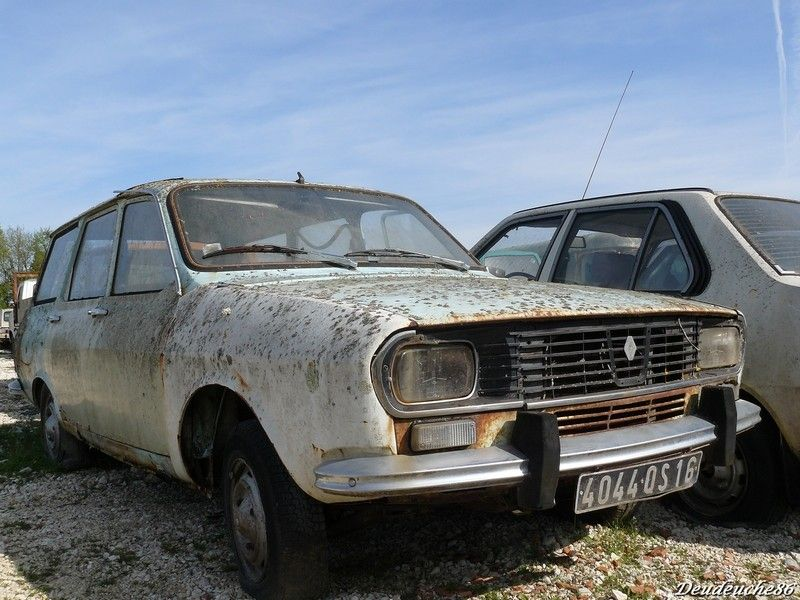 Renault 12 Old Cars Cars Abandoned Cars Old Cars