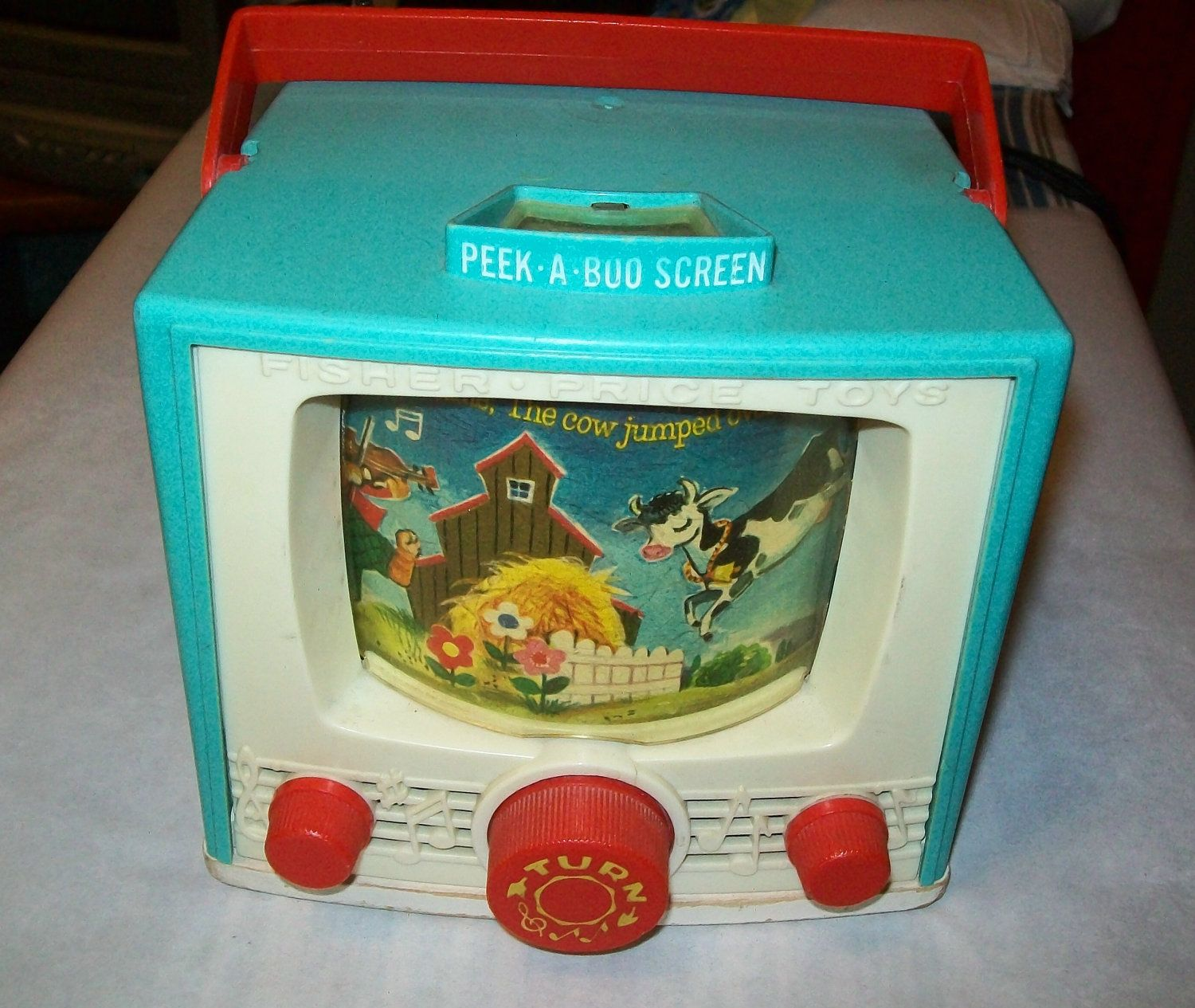 Popular Toys In The Sixties : S popular toys vintage fisher price tv toy