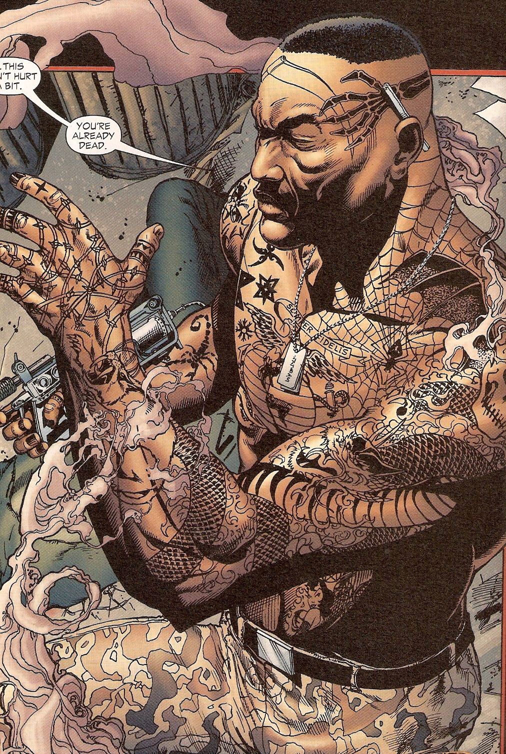 Tattooed Man , DC Comics