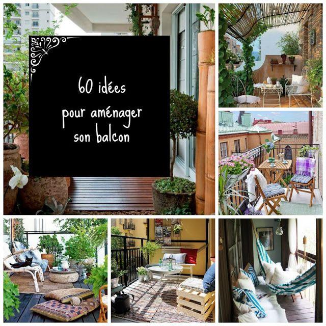60 id es pour am nager son balcon jardins maison et fils - Cacher son balcon ...