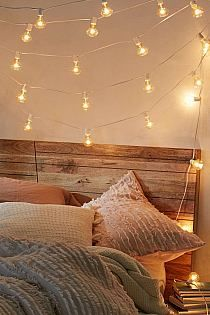 Decorative String Lights For Bedroom Pinaczaban On Wnętrza  Pinterest