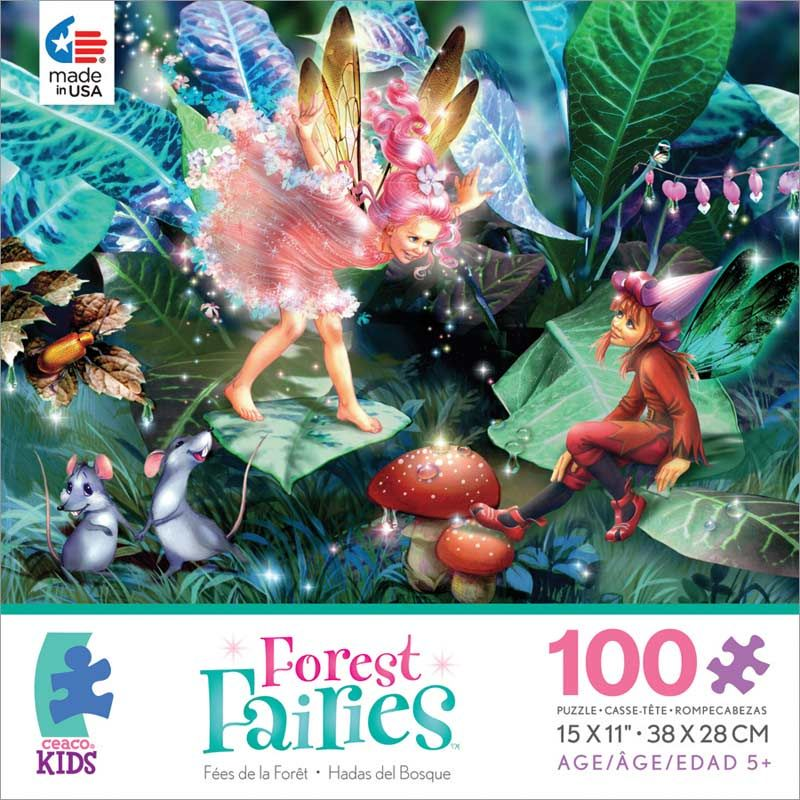 Fairy, Elf & Mice (Forest Fairies) Fairies Children's Puzzles