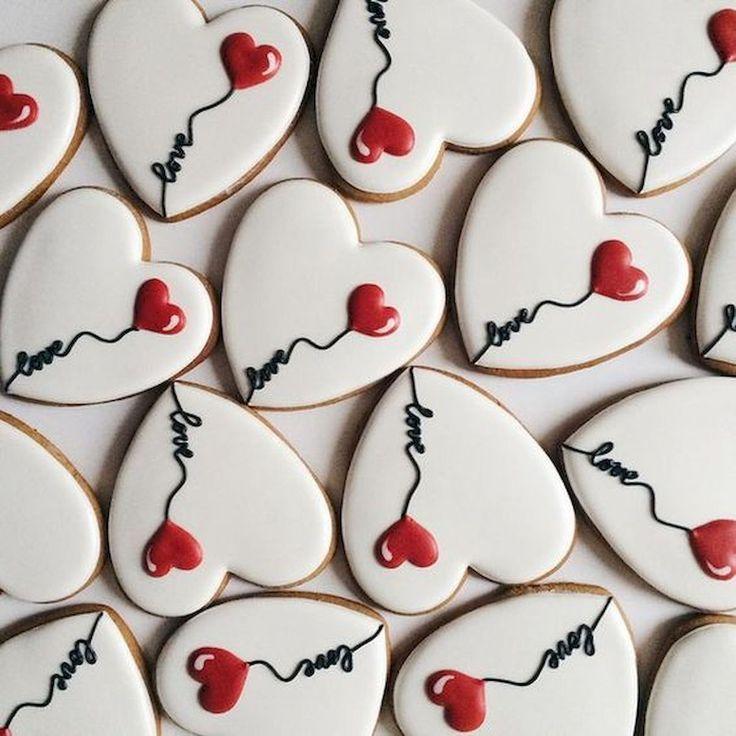 #cookies #heartcookies #lovecookies #valentinesday