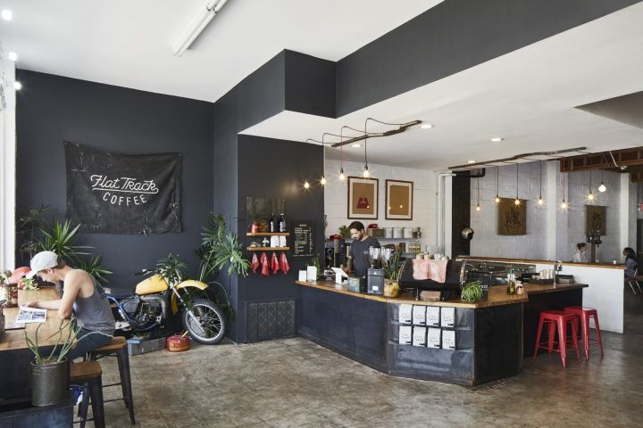 Flat Track Coffee By Lilianne Steckel Interior Design Austin