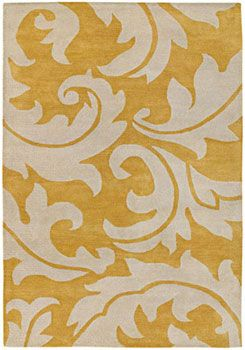 Yellow And Antique White Floral Rug Area Rugs Yellow Area Rugs Silk Area Rugs