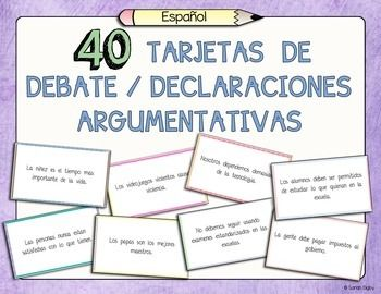 spanish debate cards defend challenge qualify spanish 40 spanish debate cards defend challenge qualify perfect for essay writing or