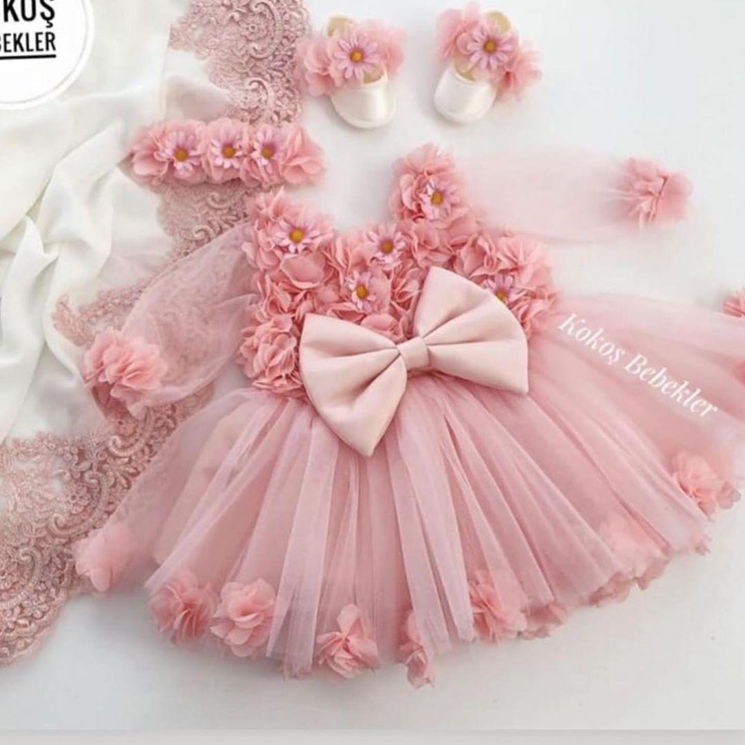 Latest pakistani fancy frocj  Flower girl dresses, Baby dress
