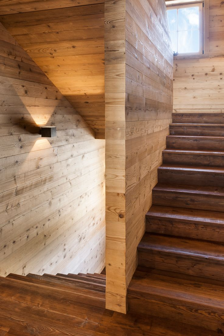 Scale in legno antico di recupero/ Reclaimed old wood stairs ...