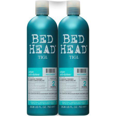 Tigi Bed Head Shampoo And Condtioner Urban Anti Dotes Damage Level 2 Recovery Shampoo And Conditioner 25 36 Fl Oz 2 Pack Walmart Com In 2021 Bed Head Shampoo Shampoo Shampoo And Conditioner