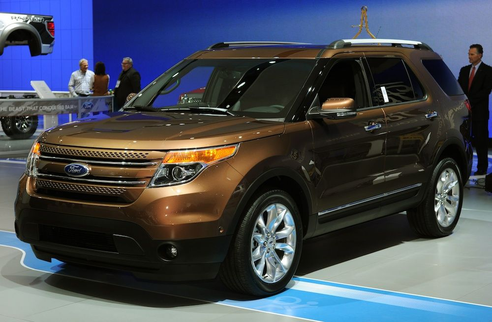 2013 Ford Explorer Golden Bronze paint Explorer