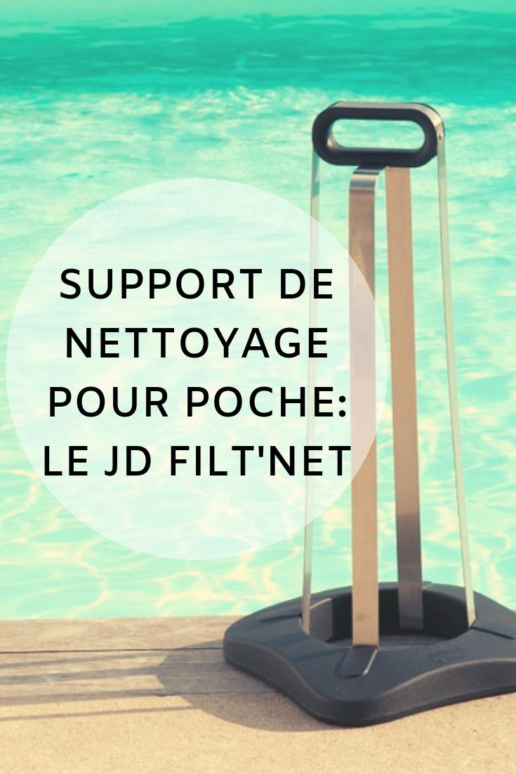 Support De Nettoyage Pour Poche Le Jd Filt Net Nettoyage