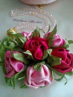 Pin by derya erikel on gz nuru pinterest flower hair bow and diy ribbon flowers ribbon rose silk flowers faux flowers ribbon art ribbon crafts fabric ribbon fabric flowers flower crafts mightylinksfo