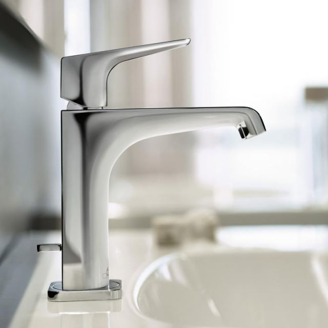 axor citterio e 125 basin mixer tap hansgrohe basin. Black Bedroom Furniture Sets. Home Design Ideas