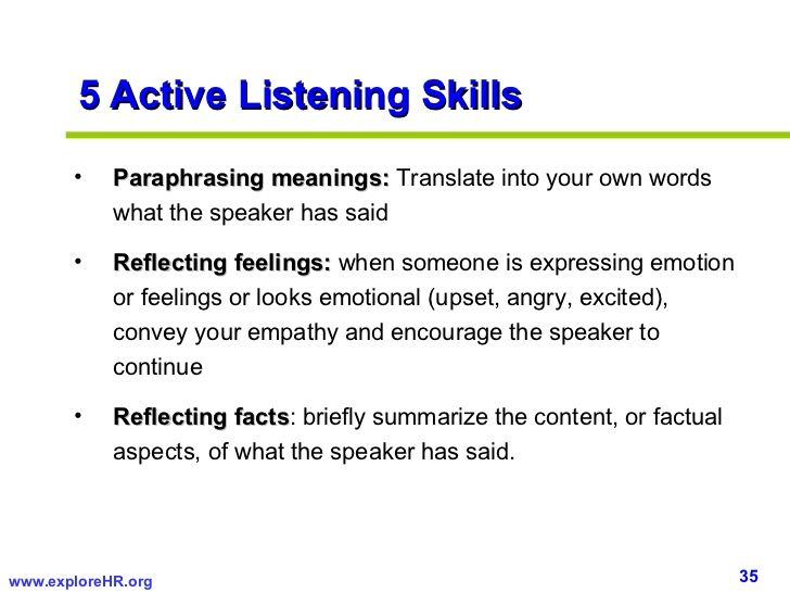 Paraphrasing for communication