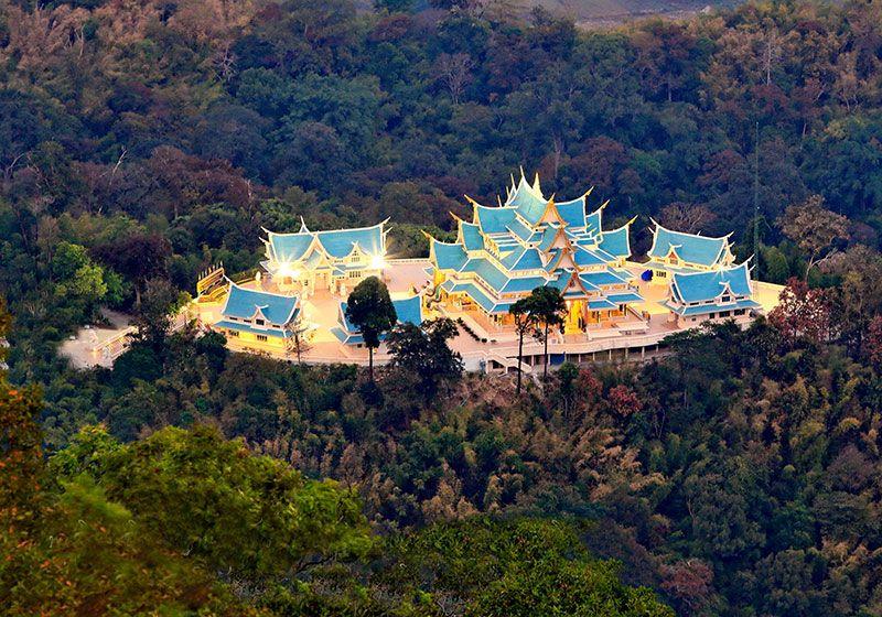 Wat Pa Phu Kon : Udonthani, Thailand