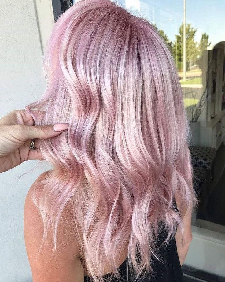 65 Rose Gold Hair Color Ideas Instagram S Latest Trend Hair Styles Hair Color Pastel Pink Blonde Hair