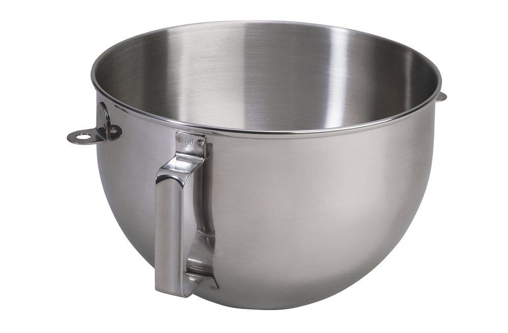 Kitchenaid 5qt polished stainless steel mixer bowl with