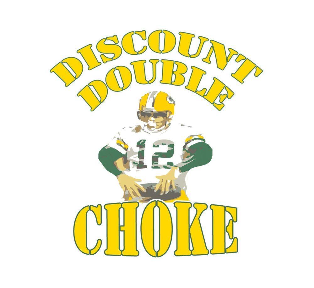Discount Double Choke Shirt Funny Aaron Rodgers Shirt Green Bay Packers Jersey Green Bay Packers Crafts Green Bay Packers Jerseys Green Bay Packers Clothing