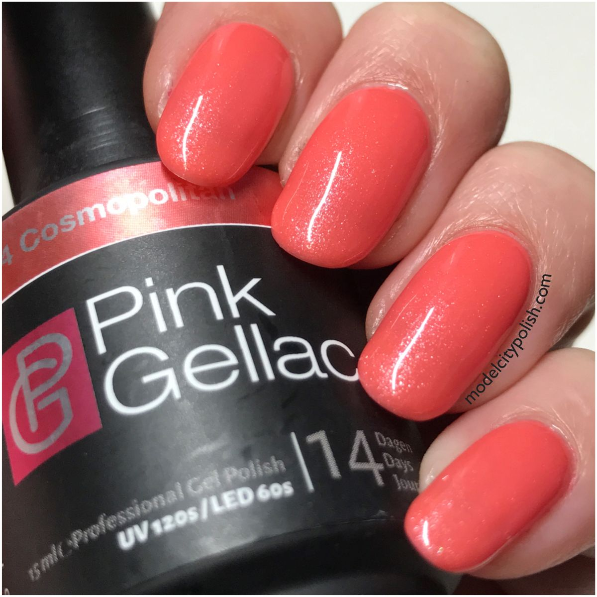 Cosmopolitan From Candy Couture By Pink Gellac Model City Polish Colorful Nail Designs Nail Designs Nail Colors