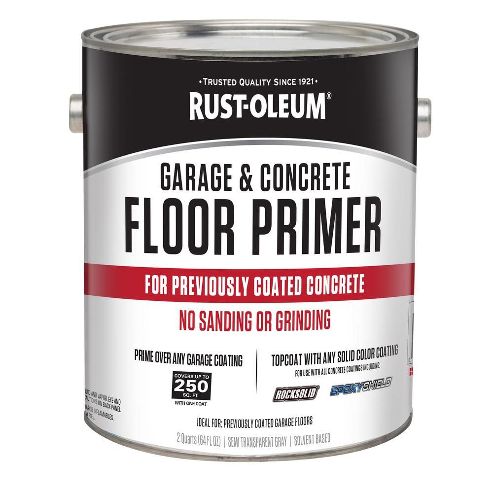 Rust-Oleum 1/2 gal  Garage and Concrete Floor Primer (Case of 2