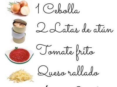 Menu de recetas light - Taringa!