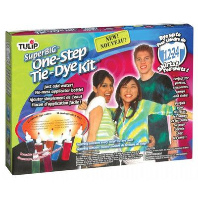 Tulip One Step Dyes Super Big Tie Kit