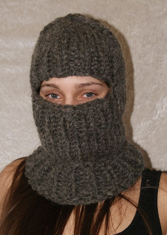 To order !!! Itchy and scratchy chunky turtleneck balaclava hat cap ...