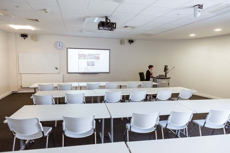 Classroom In New Adelphi And Chapman Building University Of