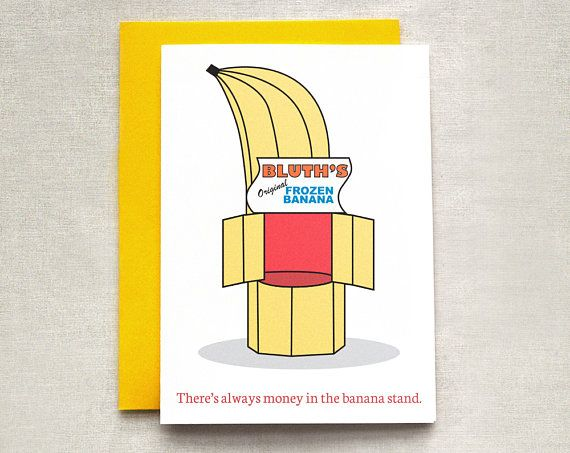 Bluth banana stand birthday card arrested development card ello bluth banana stand birthday card arrested development card bookmarktalkfo Image collections