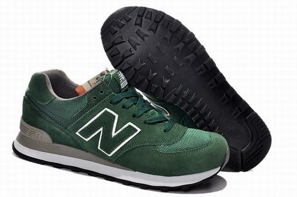 finest selection 73794 47b5c Joes New Balance US574M1 Sneakers Made In USA Blackish Green Mens Shoes