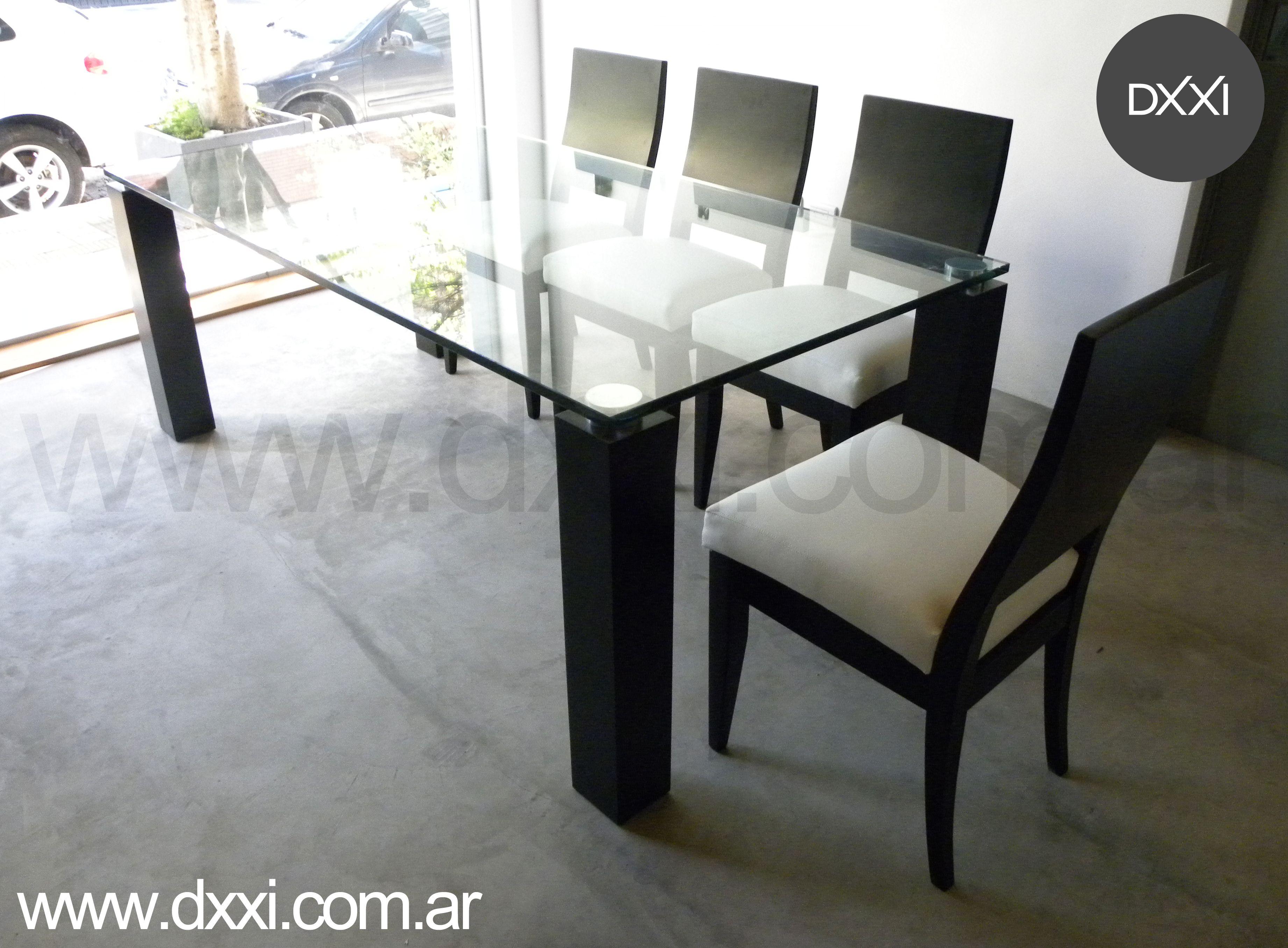 Mesa De Comedor Modelo Melina Mesa Table Dxxi Muebles  # El Foco Muebles Caballito
