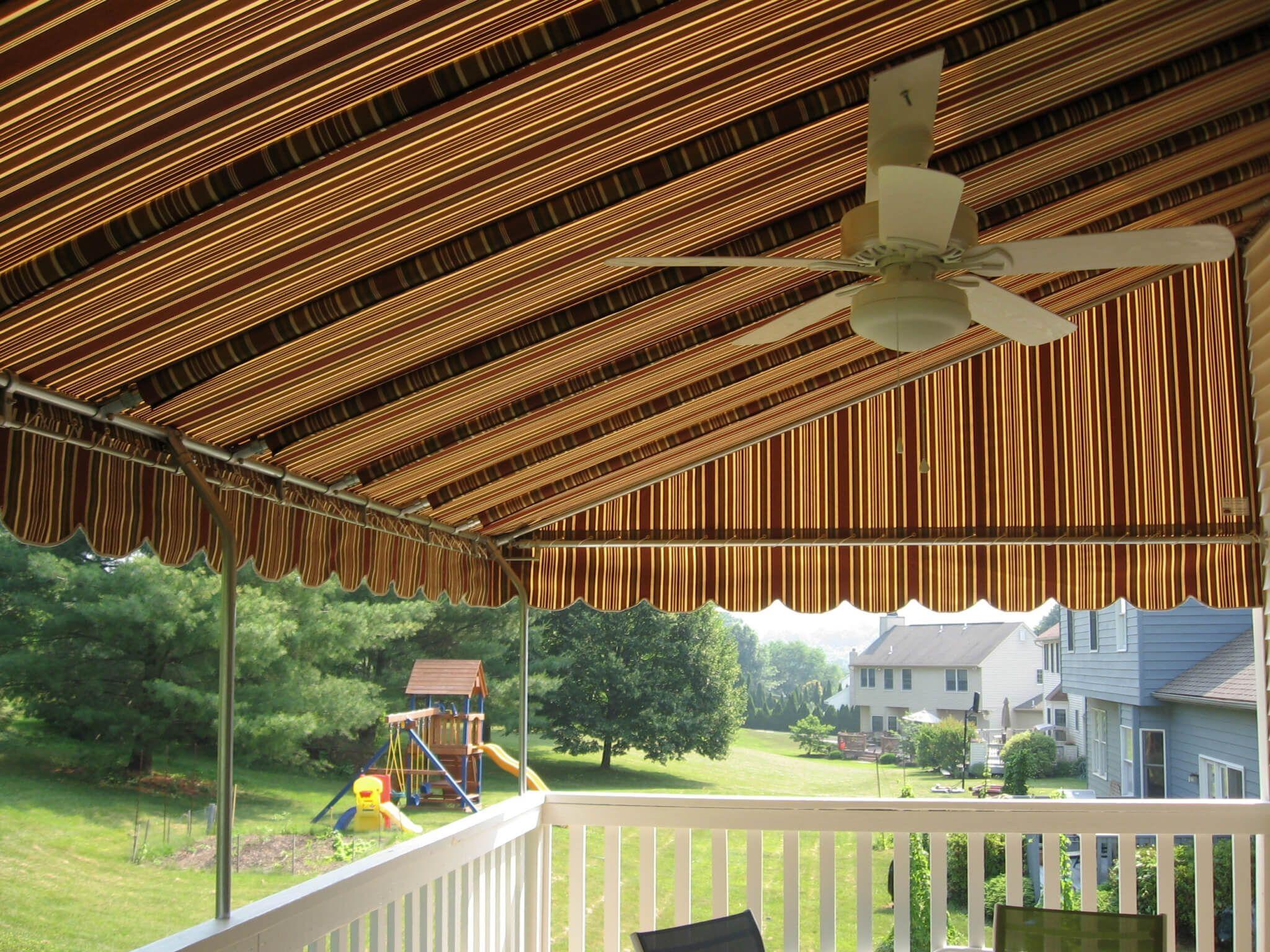 Eastland Redwood Sunbrella Awning Patioawning Homeimprovement Subrellla Outdoorliving Deckawning Patio Summer S Canopy Outdoor Patio Canopy Deck Canopy