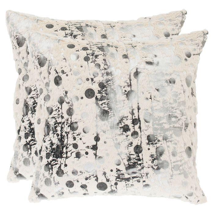 Raina Pillow Set Of 2 White Decorative Pillows Decorative Throw Pillows Throw Pillow Sets