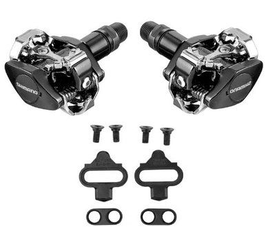 Shimano SPD Pedals Cleats PD-M505 Bike Cycle Bicycle Cycling Lightweight Offroad
