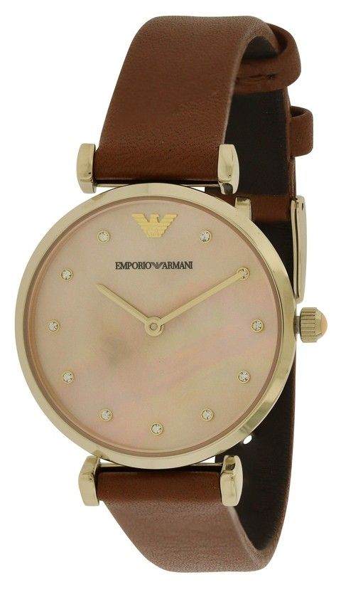 25a9fb34a6b http   www.dutyfreelucxor.com.br relogios1 originais armani relogio-emporio- armani-retro-leather-ladies-watch-ar1960