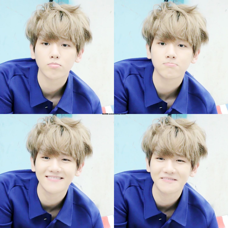 "Exo - Baekhyun ""Loving these photos atm"""