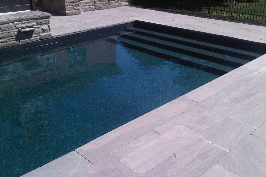 Image Result For Black Granite Pool Liner Latham With Images