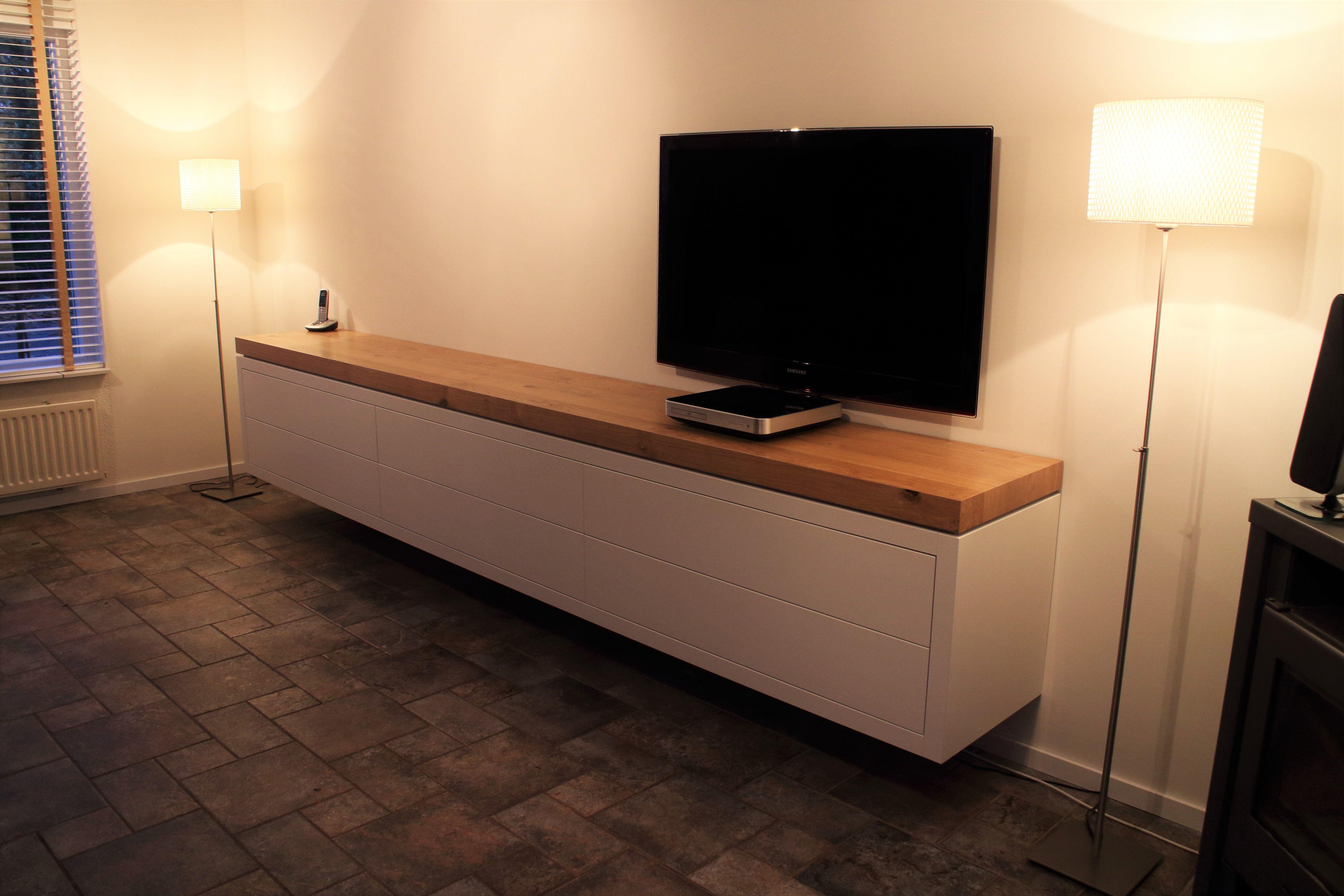 Tv meubel 350 cm lang met alleen lades. Bezoek onze website en maak ...