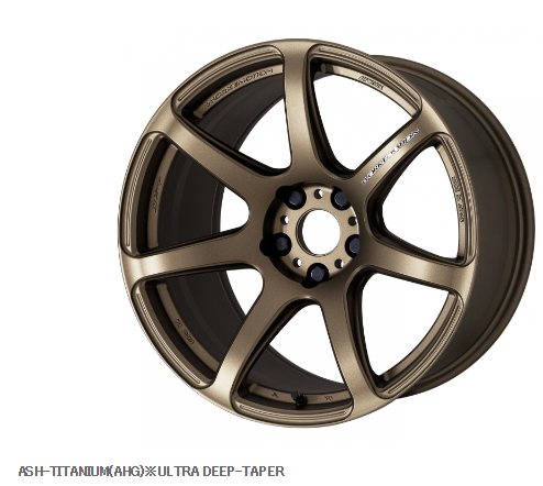 Work Wheels Japan Emotion T7r Ahg Ultra Deep Taper 18 X7 5 53 676aud Ea Llantas Subaru