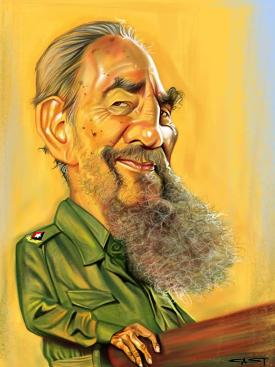 Fidel Castro @Sebastian Ibarra Cast