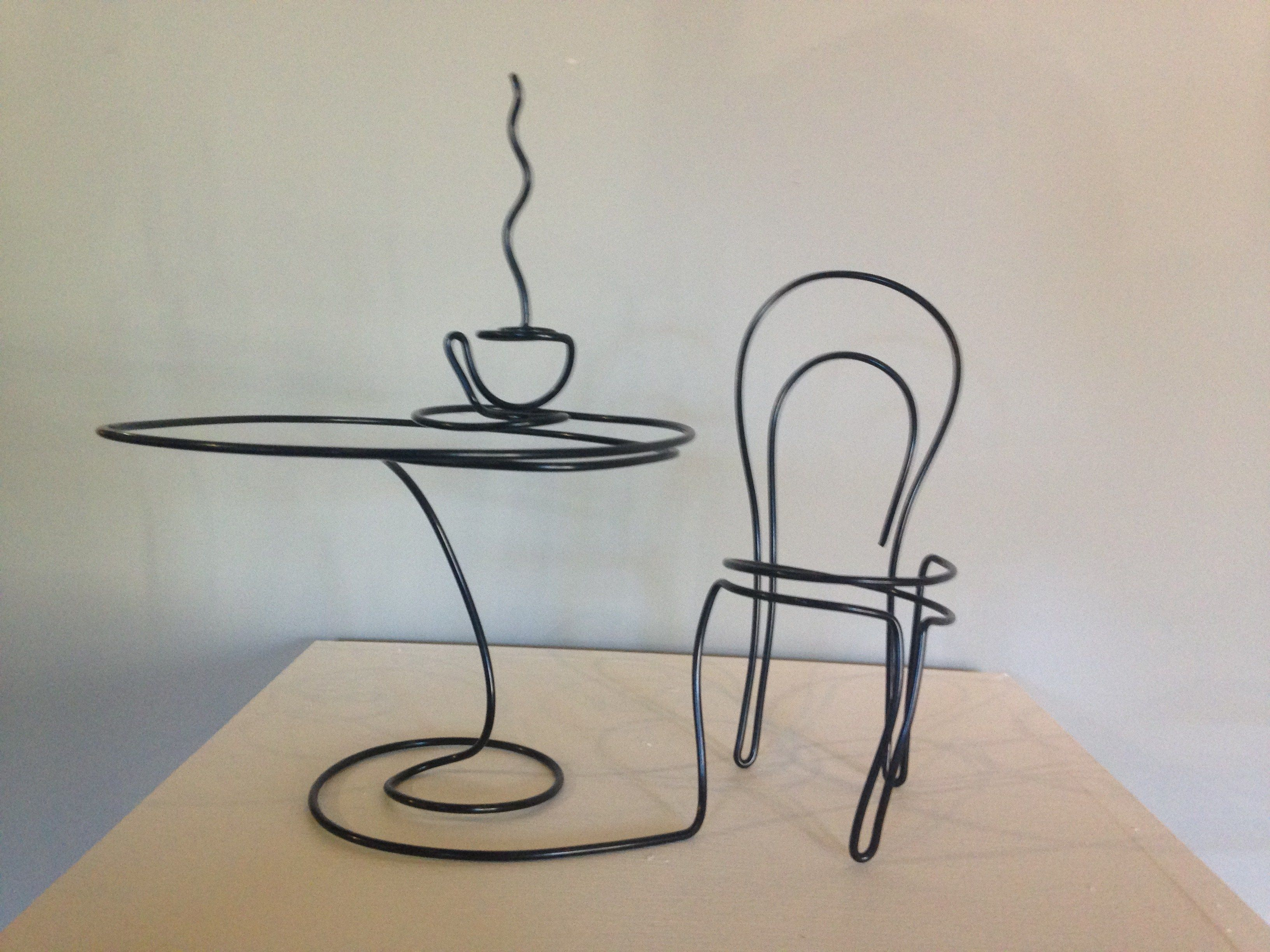 IMG_2761 | Fil de fer | Pinterest | Wire art and Galleries