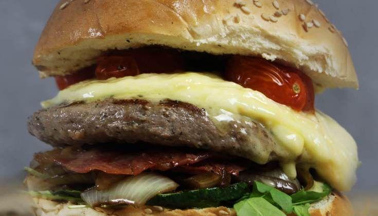 Raclette Burger BBQ Recipes BBQ Junkie, #BBQ #Burger #Junkie #Raclette #Recipes