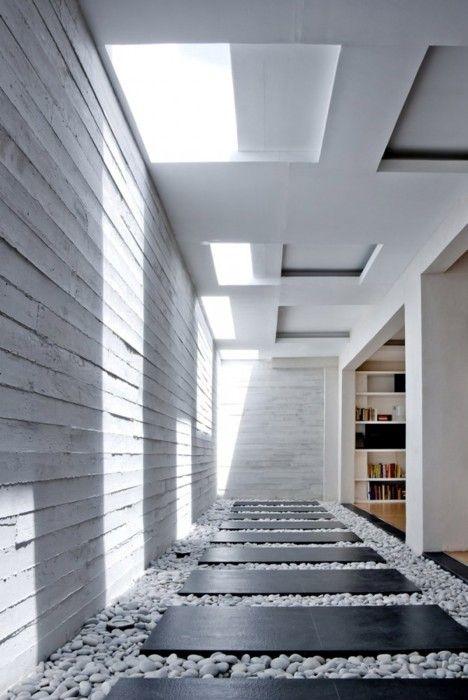 housing designs architecture Pinterest Courtyard House