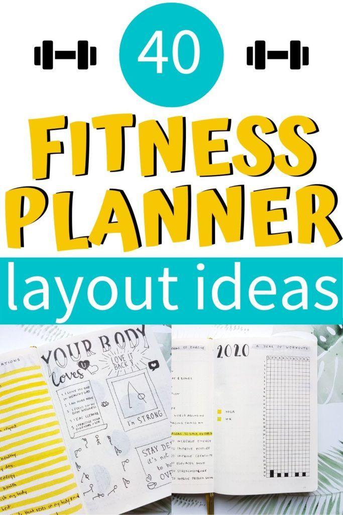 Bullet Journal Fitness Tracker Ideas [Body Positivity] - AnjaHome